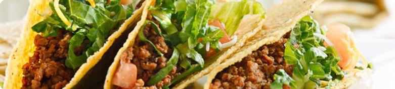 Mexikanische Tacos  - Olympia Grill- & Kebaphaus