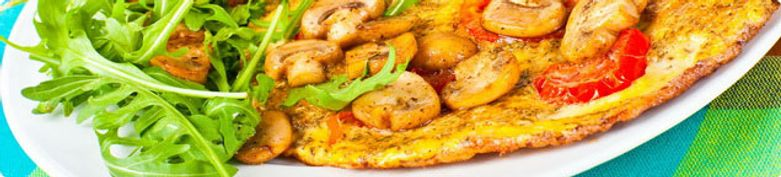 Omelette Gerichte  - Gusto Box