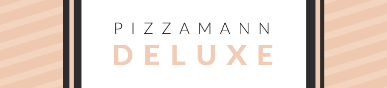 Deluxe Pizza (ovale Pizzen) - Pizzamann