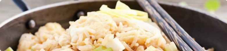 Nudel- und Reisgerichte  - En Wok