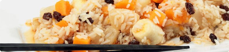 Body-Fit Reisgerichte - Bio Essen
