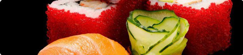 Sushi und Maki - Milu Milu Taiwanesisches Restaurant
