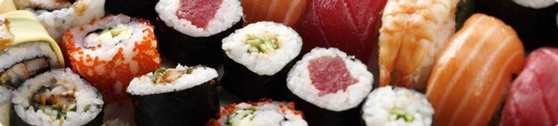 Gepresste Sushi  - Sushi Theke