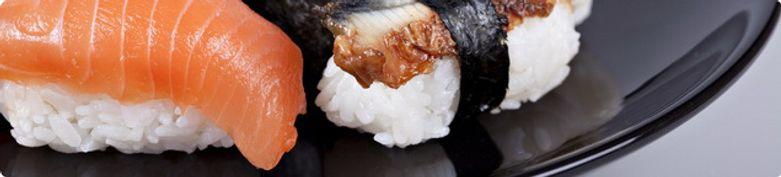 Sushi einzeln - Chinesischer Garten