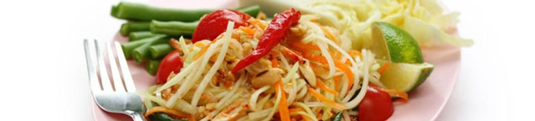 Nudeln, Reis & Gemüse - Restaurant Tom Yam