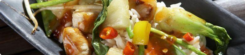 Gemüse/Tofu - China Restaurant Gedeihen