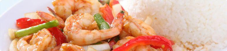 Reis, Fisch & Meeresfrüchte - Restaurant Tom Yam