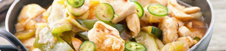 Hühnerfleisch - Wok Sushi Speising