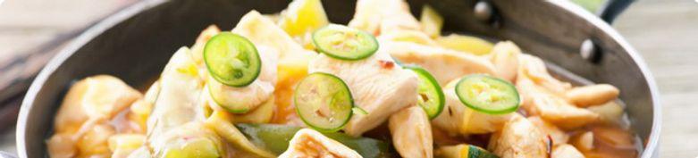 Hühnerfleisch - Asian Cooking Restaurant