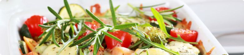 Vegetarische Spezialitäten - La Bella Vita