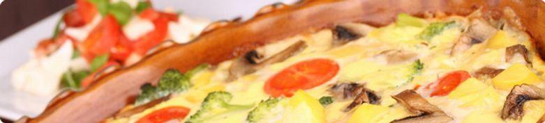 Überbackenes  - Pizza Milano