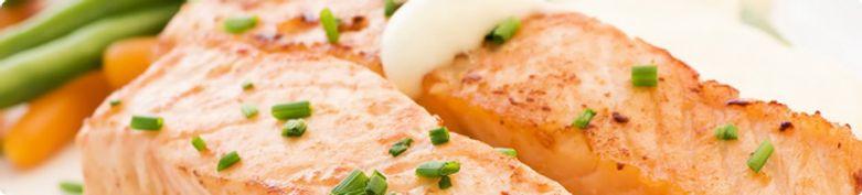 Fischgerichte - Asian Cooking Restaurant