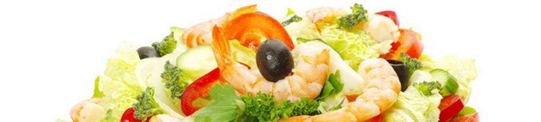Salat - Langos & Schnitzel