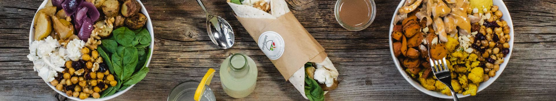 Blattgold - Salads, Bowls, Curries & Wraps Lieferservice in Wien
