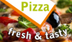 Logo von Pizza fresh & tasty