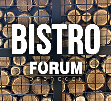 Fórum Bistro, Debrecen, Internetes ételrendelés