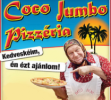 Coco Jumbo Pizzéria, Budapest, Internetes ételrendelés