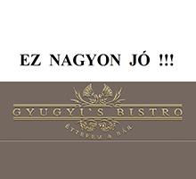 Gyugyi's Bistro, Budapest, OnLine ételrendelés
