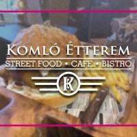 Komló Étterem & Kávézó, Szombathely, OnLine ételrendelés