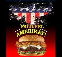 Fald Fel Amerikát - Szigetszentmiklós, Szigetszentmiklós, Internetes ételrendelés