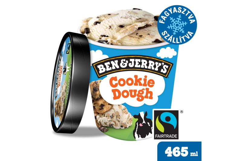 Ben and Jerrys Cookie Dough jégkrém (500ml)