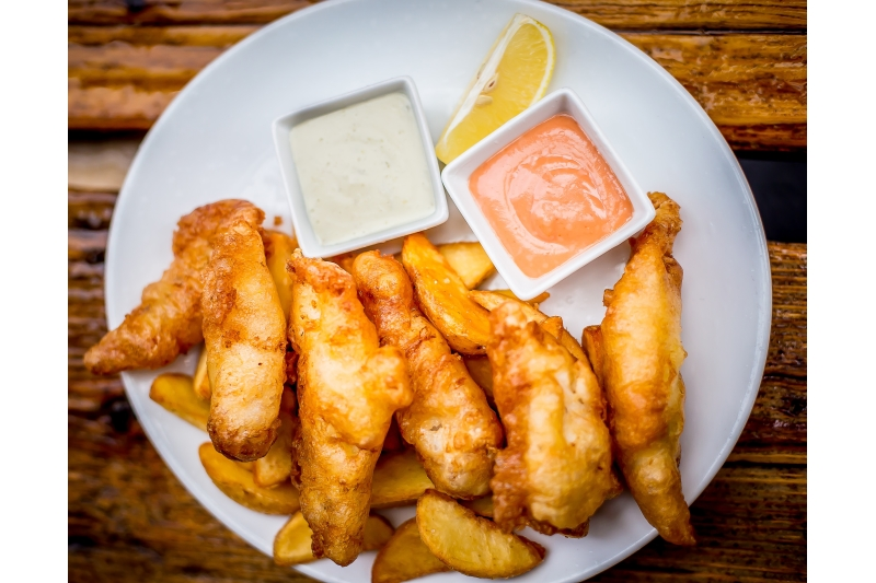 Fish and Chips (normál adag)