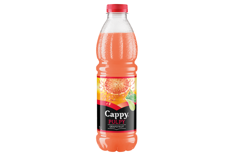 Cappy Pulpy Grapefruit (1l)