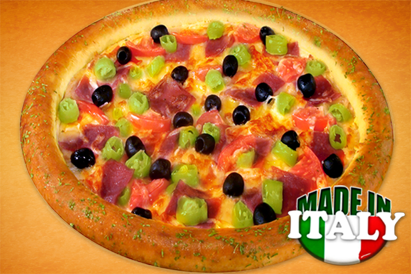 Made in Italy pizza (50cm)