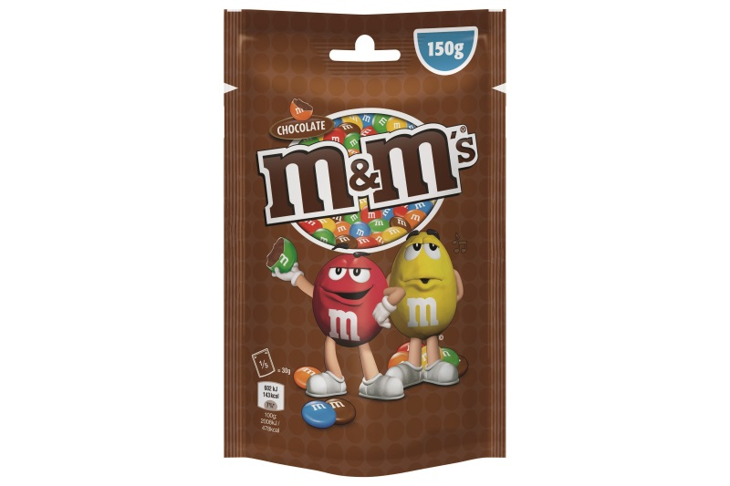M and Ms csokis