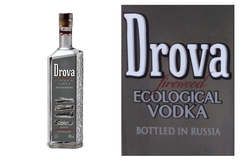 Drova Oak Filtered Vodka (0,5l)