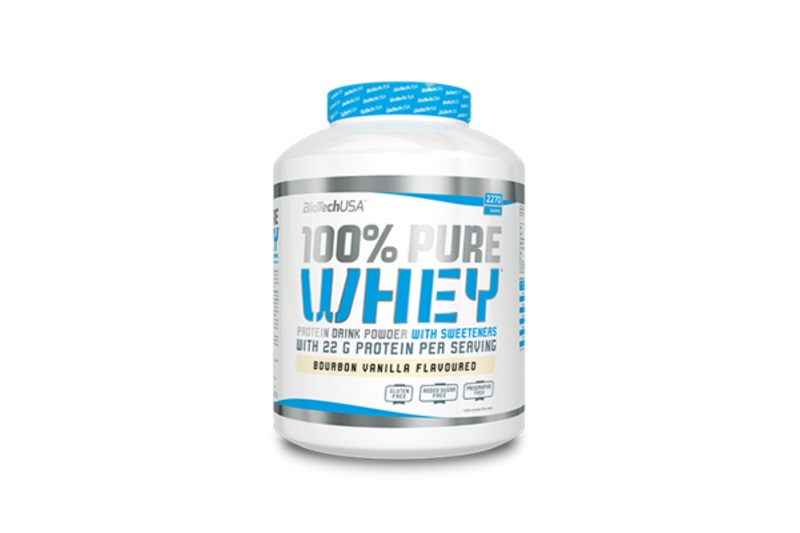 100% Pure Whey (2270g) caramell-capuccino