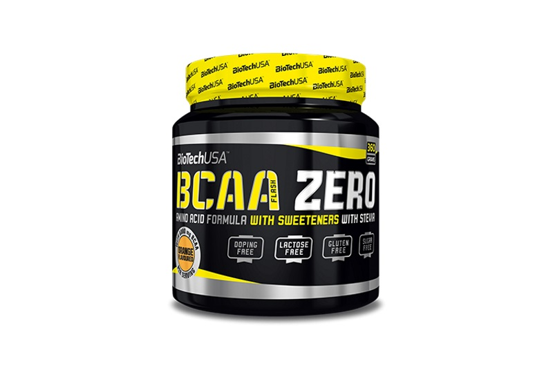 BCAA Flash Zero (360g) barackos tea