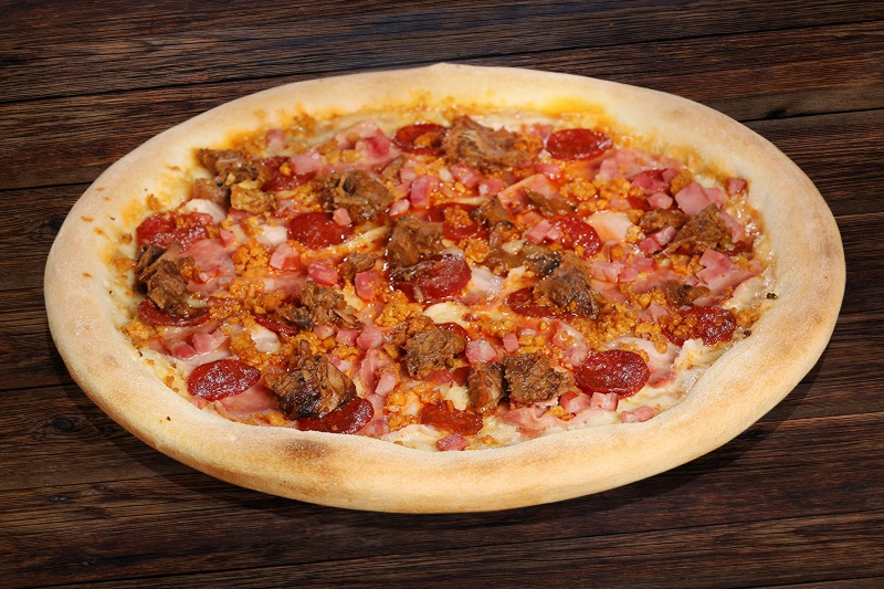 All the meats pizza (60cm)