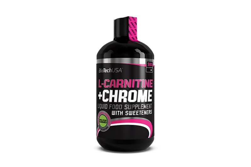L-CARNITINE + CHROME (500ml) alma-körte