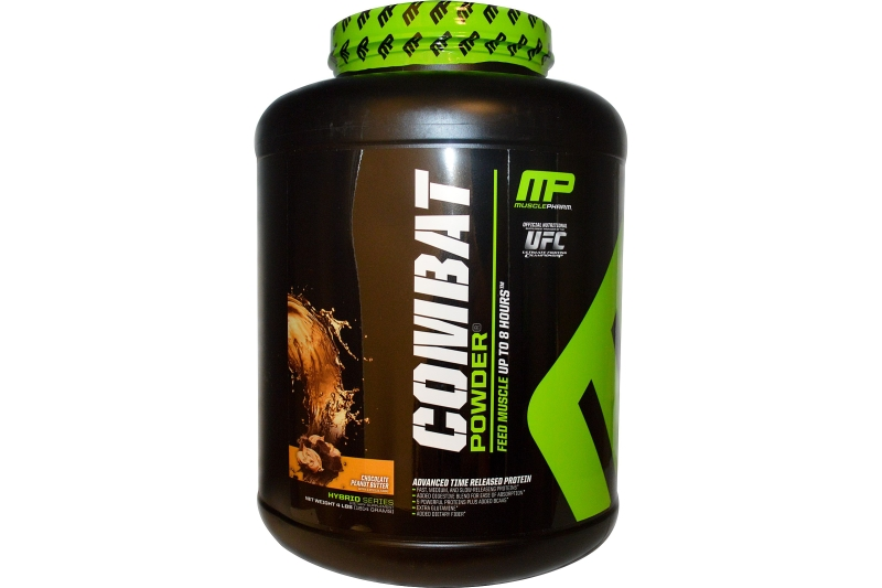 MusclePharm Combat Protein Powder (1814g) vanília