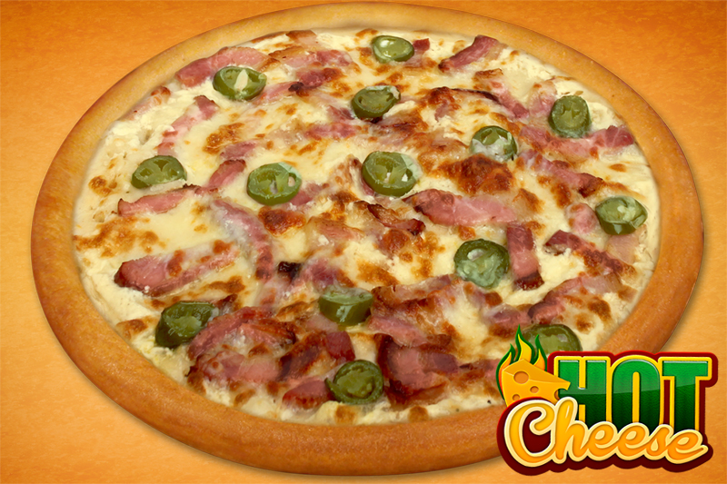 Fit hot cheese pizza (26cm)