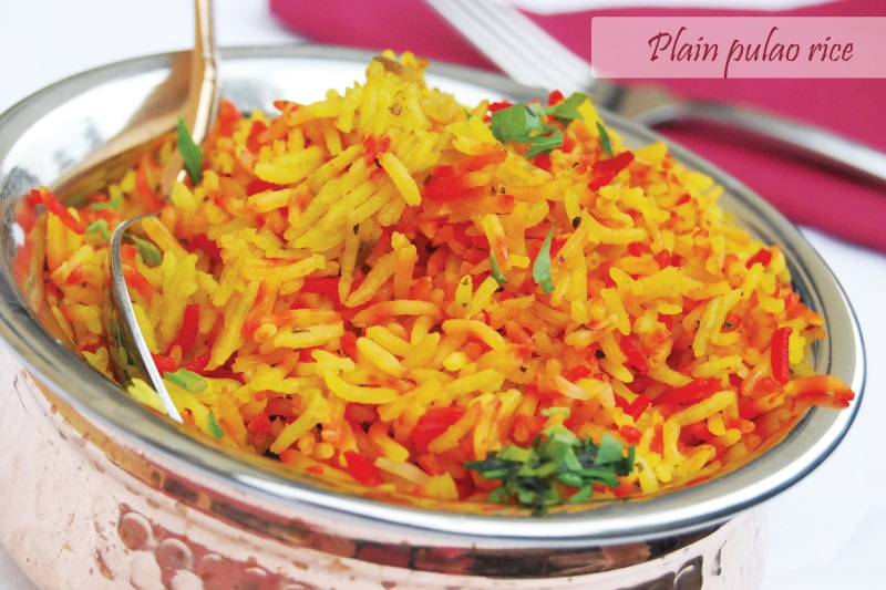 Plain Pulao Rice