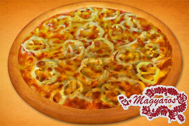 Magyaros  fit and slim pizza (26cm)