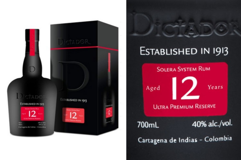 Dictador 12 years DD (0,7l)