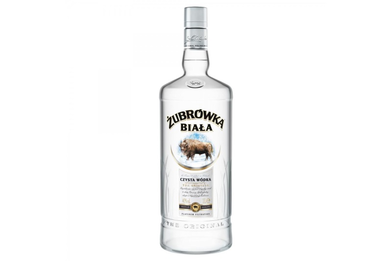 Zubrowka Biala Original Vodka (1l) (37,5%)