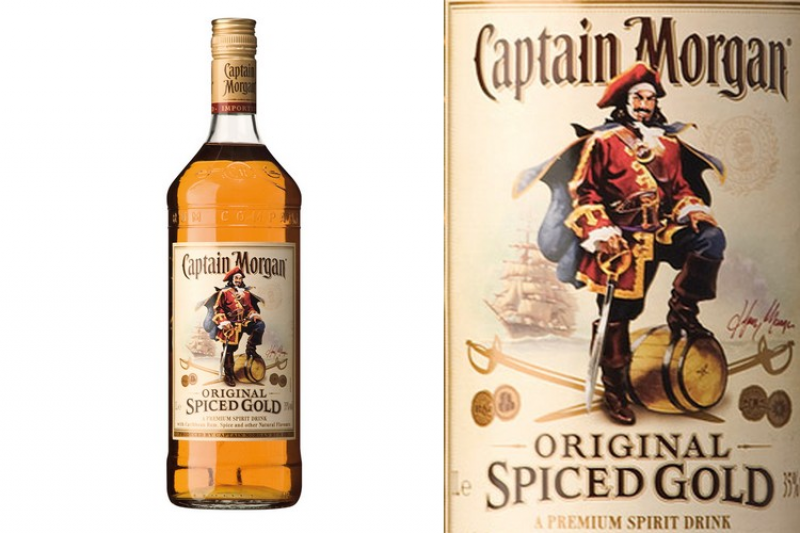 Captain Morgan Spiced Gold (0,7l)