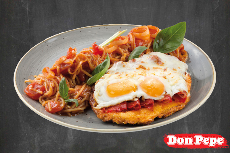 Chicken Parmigiana alla Don Pepe