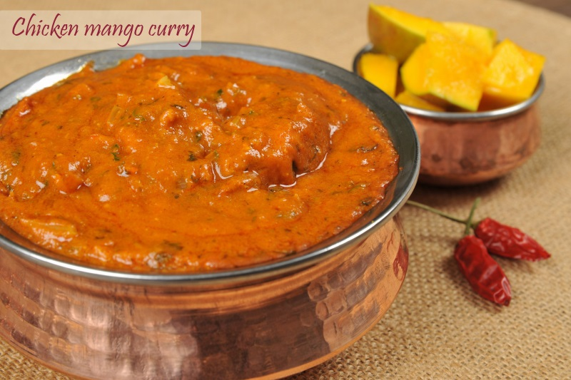 Chicken Mango Curry (csípős)