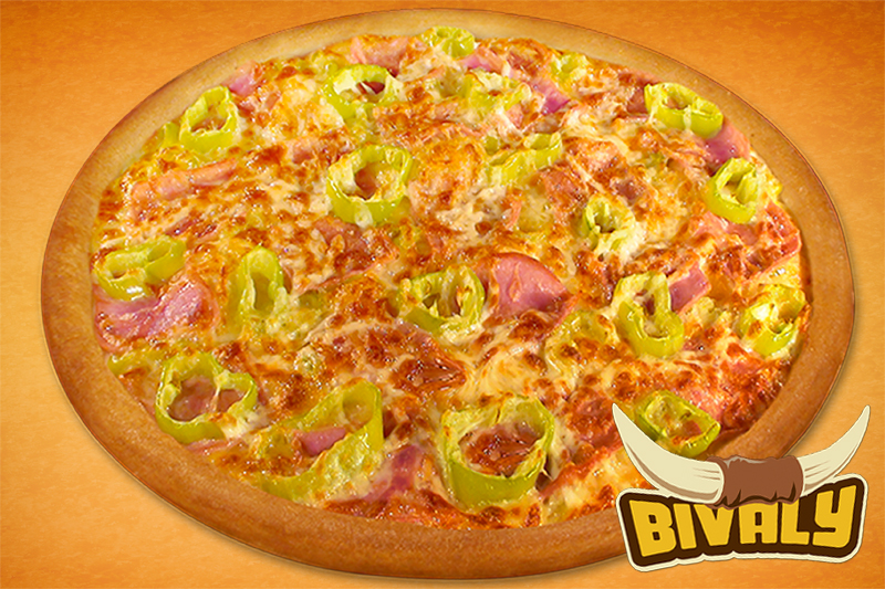 Bivaly pizza (50cm)