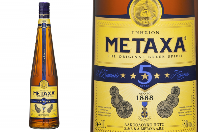 Metaxa 5 csillagos (0,7l)