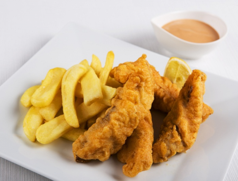 Fish and Chips (18dkg)
