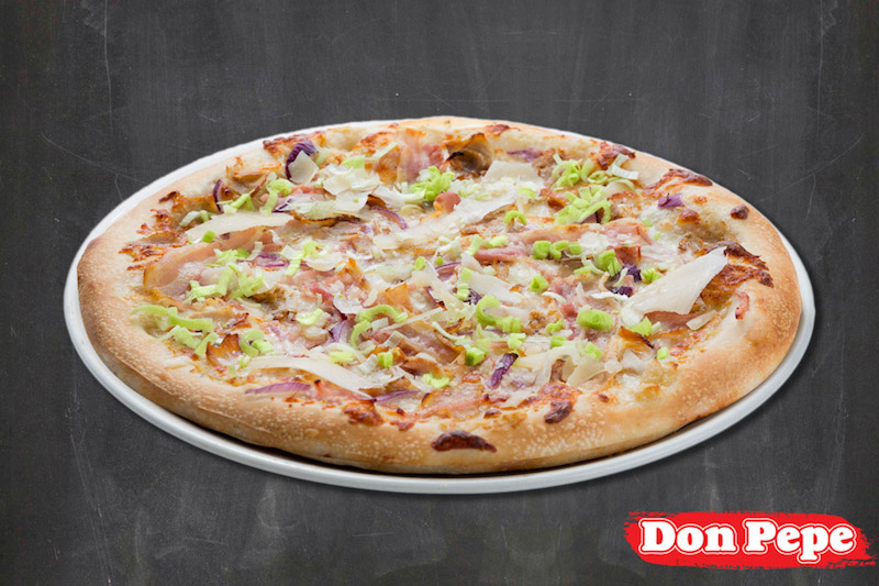 XXL Chicken carbonara pizza (55cm)