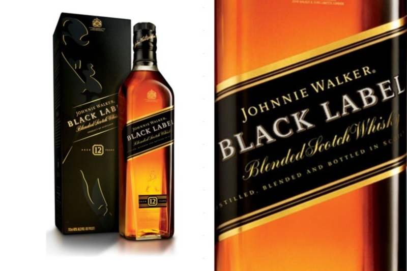 Johnnie Walker Black Label DD (0,7l)