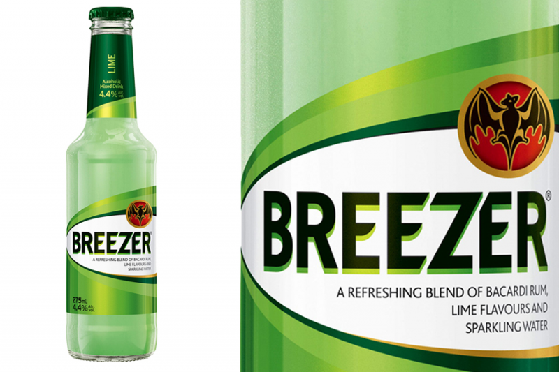 Bacardi Breezer Lime (0,275l)