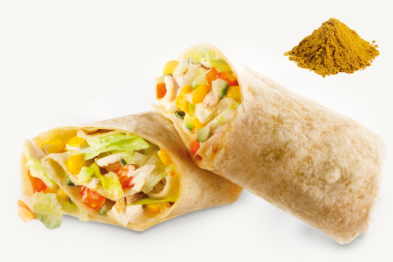 Curry-s wrap